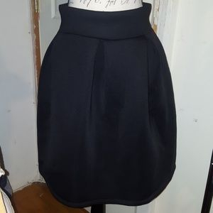 Vintage 50's/60's High Waisted Midi Skirt